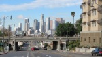 view of downtown los angeles from east los angeles, 1st street